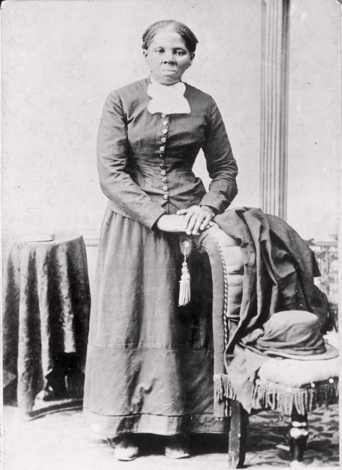 This 1860-75 photo made available by the Library of Congress shows Harriet Tubman. Treasury Secretary Steven Mnuchin is calling